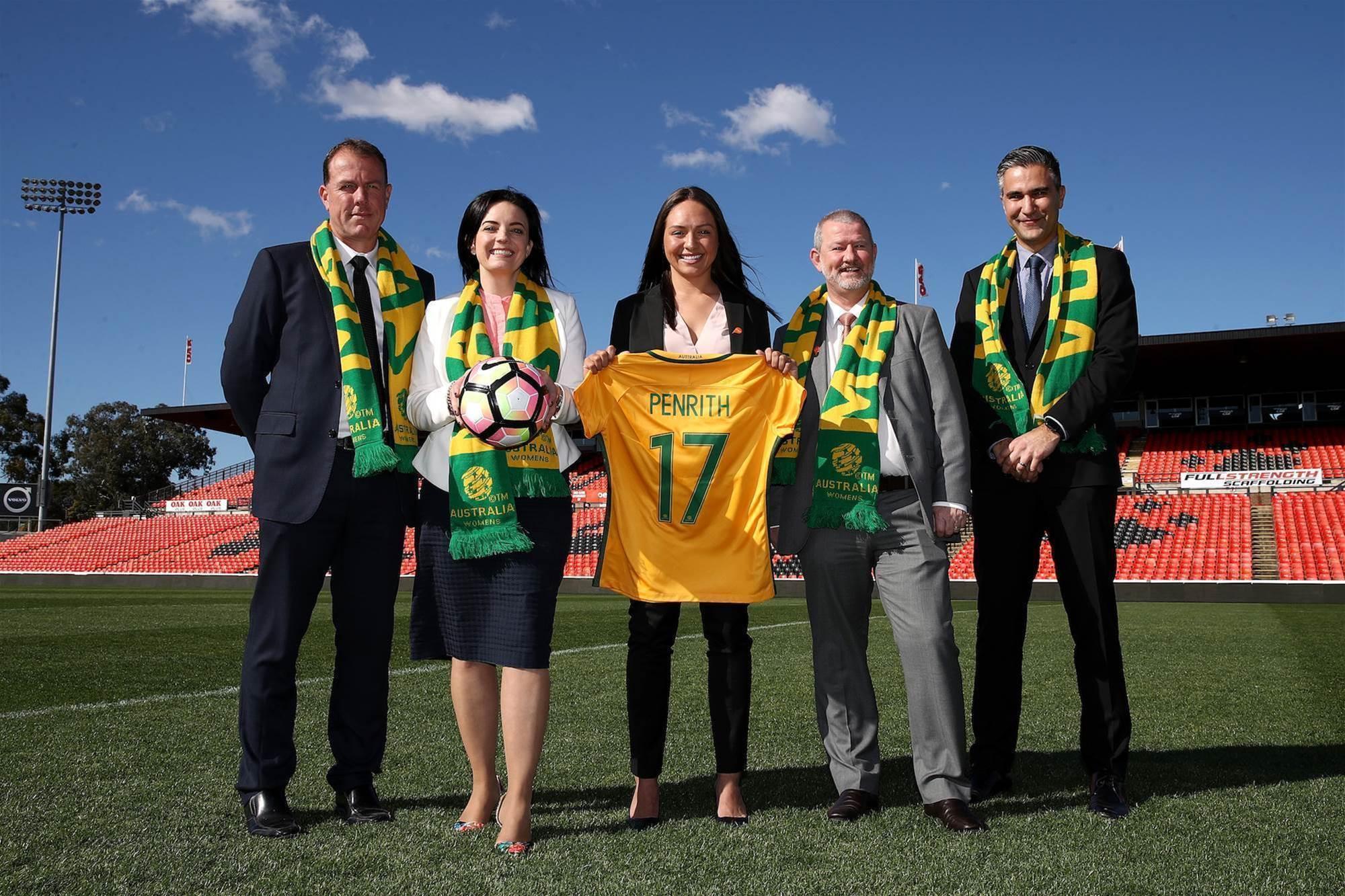 Matildas v Brazil announcement pic special