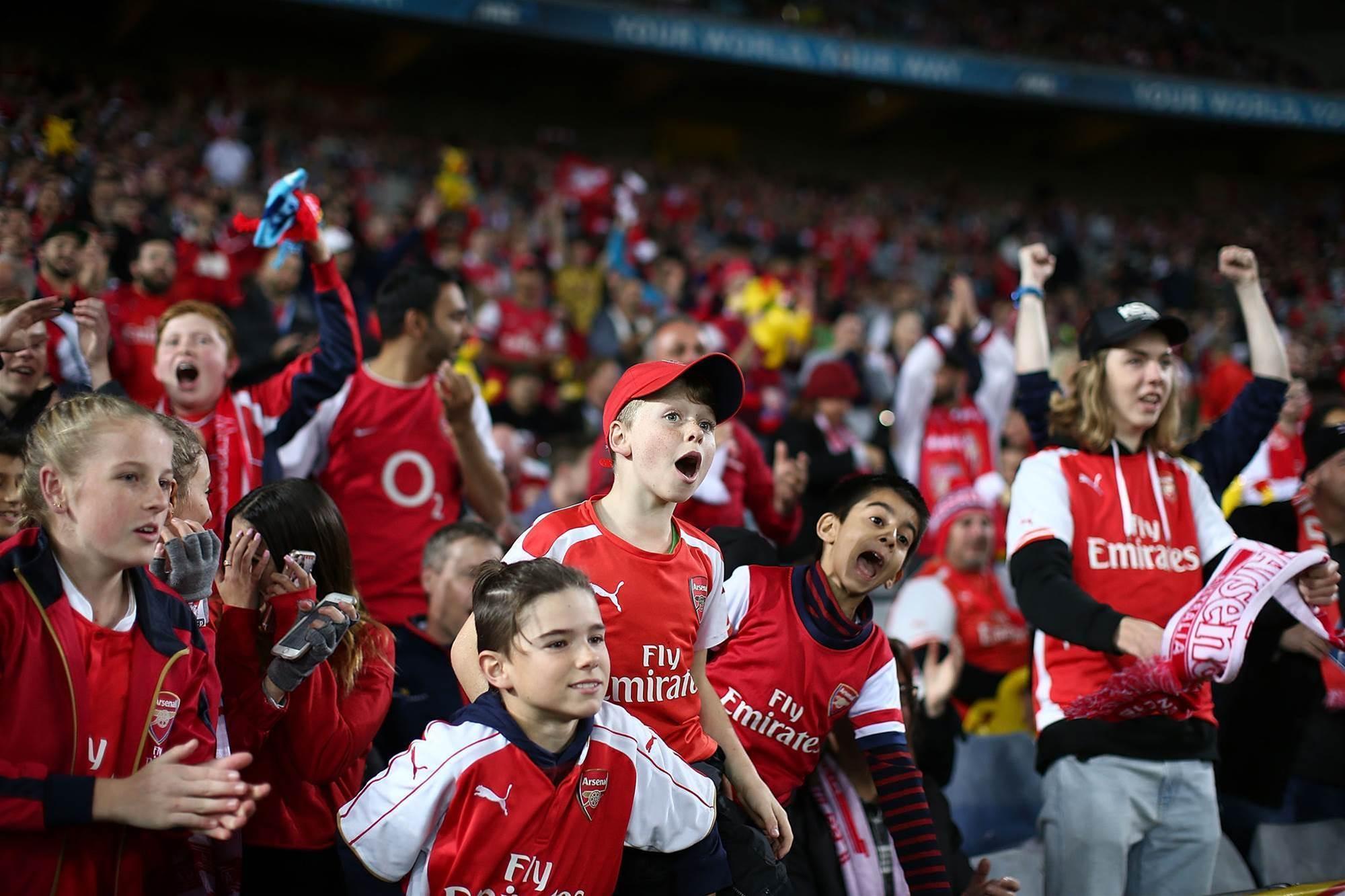 Pic special: Arsenal v Sydney FC