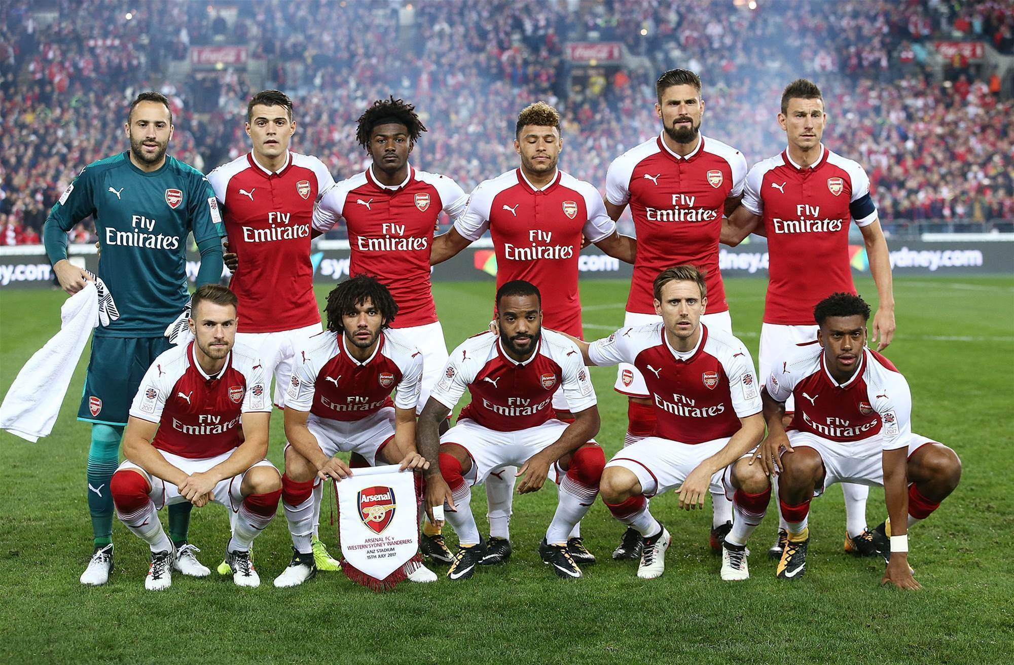 Pic special: Arsenal v Wanderers