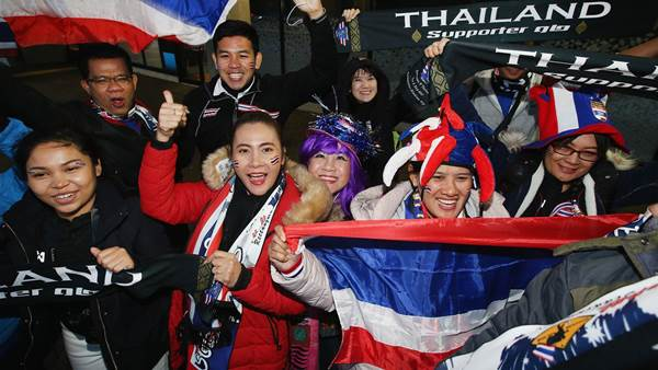 Australia v Thailand pic special
