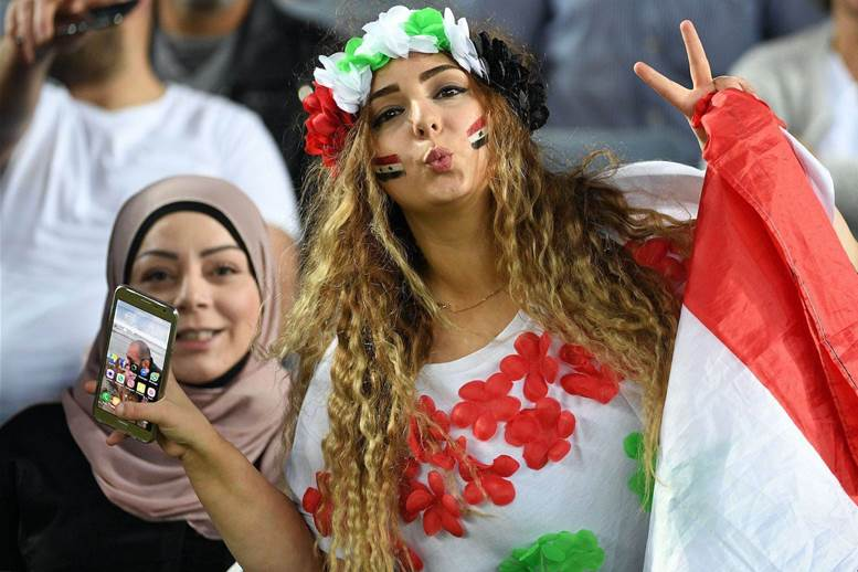 Gallery: Syria's stunning Sydney supporters