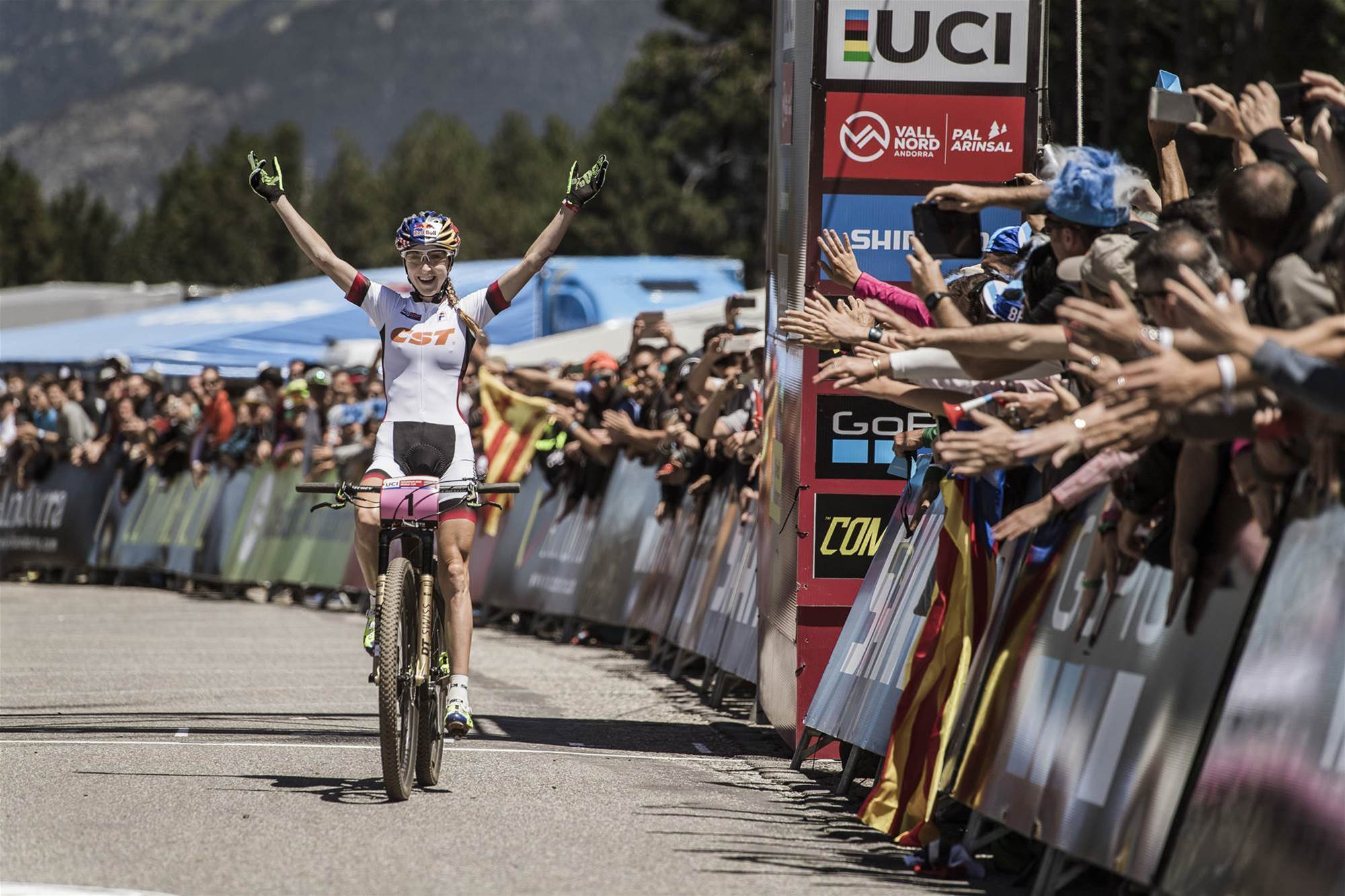Belomoina and Schurter on a roll in Andorra