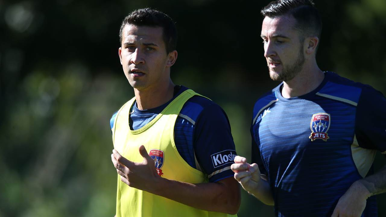 Pic special: Newcastle Jets begin pre-season