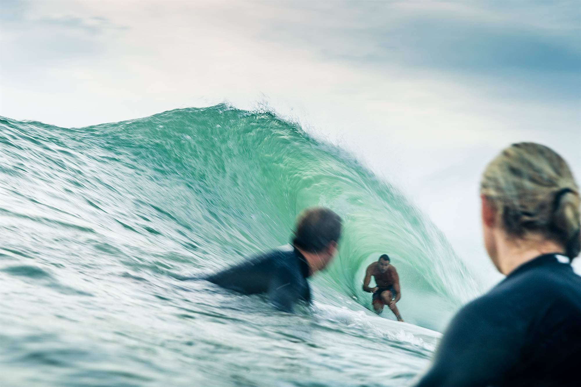 Quick Image: Joel Parko Scores Wave of the Morning.