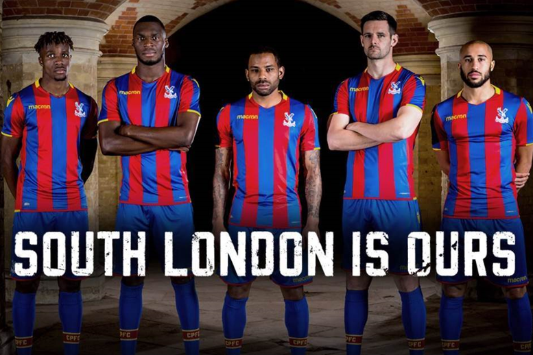 Crystal Palace's 2017-18 home kit unveiled