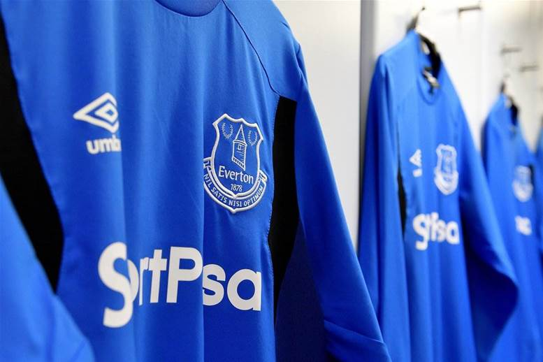 Everton's 2017-18 home kit released