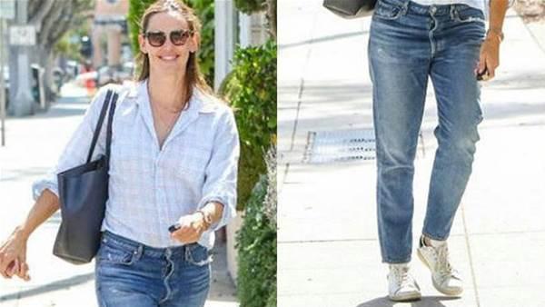 Jennifer Garner's Laid-Back Look