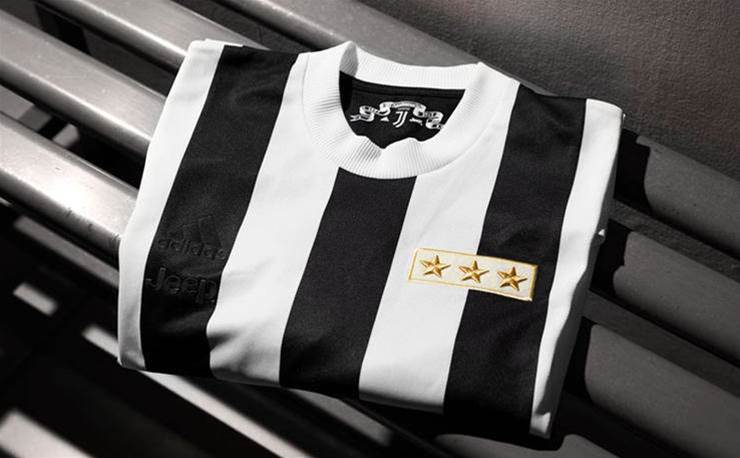 Gallery: Juventus unveil special 120-year anniversary kit
