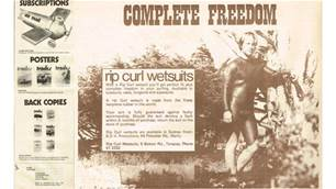 Wetsuit Wars and Bell-bottom long johns.