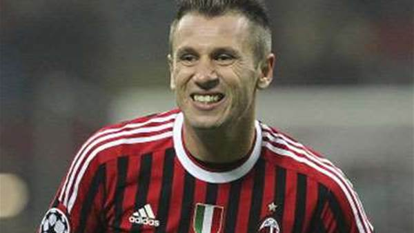 Cassano out for six more months