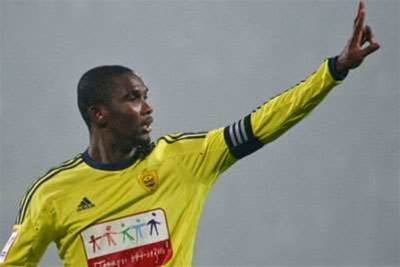 Banned Eto'o rules out appeal