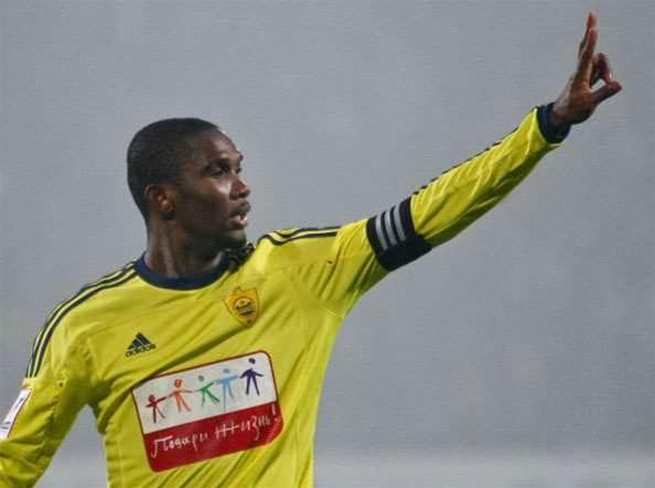 Eto'o Receives 15-match Ban