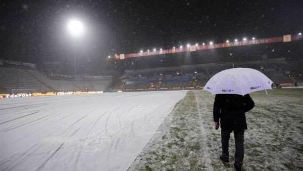 Parma - Juventus snowed off
