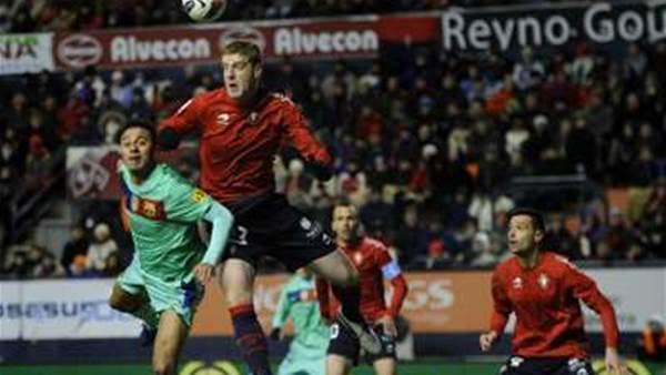 Barca Title Hopes Dive After Osasuna Loss