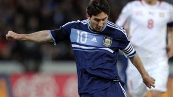 Internationals: Messi Stars For Argentina