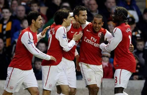 Arsenal Close In On UCL With Wolves Thrashing