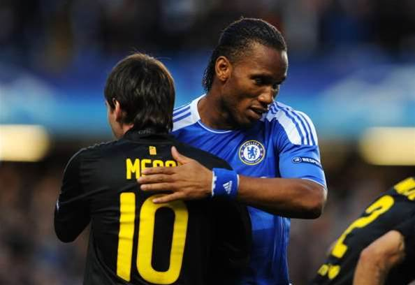 Drogba Gives Chelsea Lead Over Barca