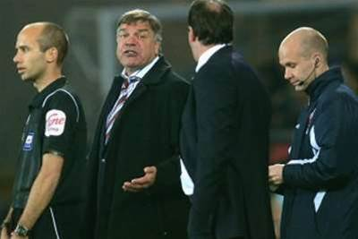Allardyce Delighted With Hammers Tactics