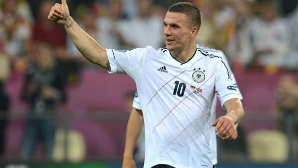 Podolski Delighted After Milestone Match