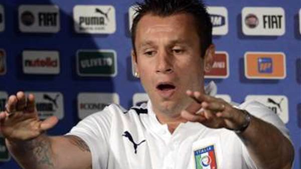 Cassano Sorry For Gay Jibes