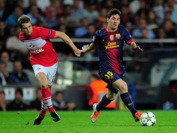 Messi Denies Brave Spartak