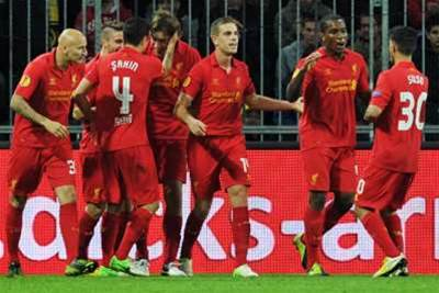 Rodgers Praises 'Young Boys' Of Liverpool