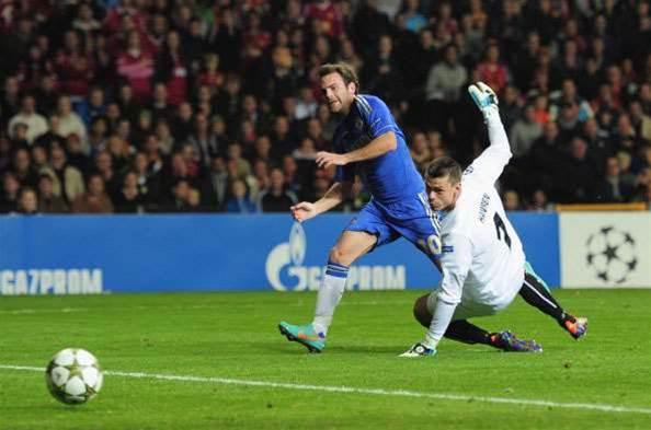 Mata Brace Fires Chelsea