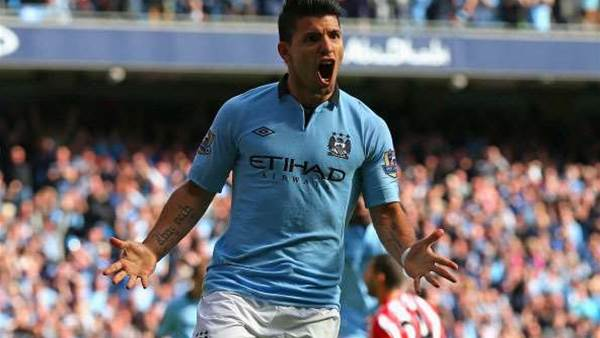 Aguero Says City Form Close To Best