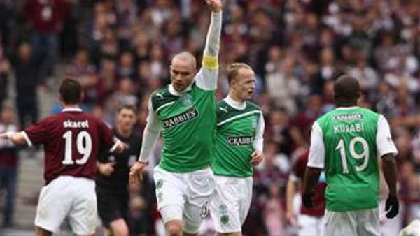 Hibs Sack Announcer For Mocking Hearts