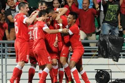Singapore Take Charge In Suzuki Cup Final