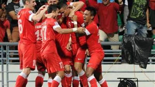 Singapore Take Charge In Suzuki Cup Final
