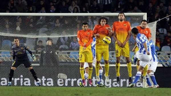 Liga wrap: Sociedad shock 10-man Barca