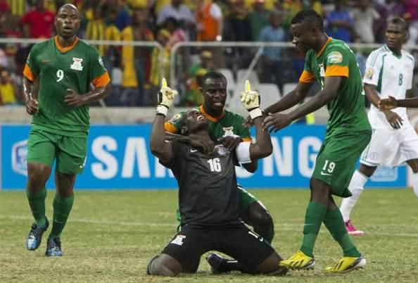 AFCON: Zambia 1 Nigeria 1