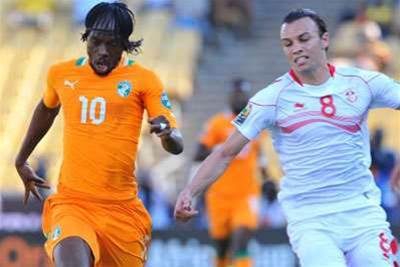 AFCON: Ivory Coast 3 Tunisia 0