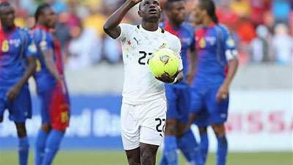 AFCON: Ghana 2 Cape Verde 0