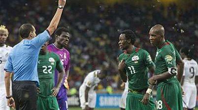 CAF suspend Tunisian referee