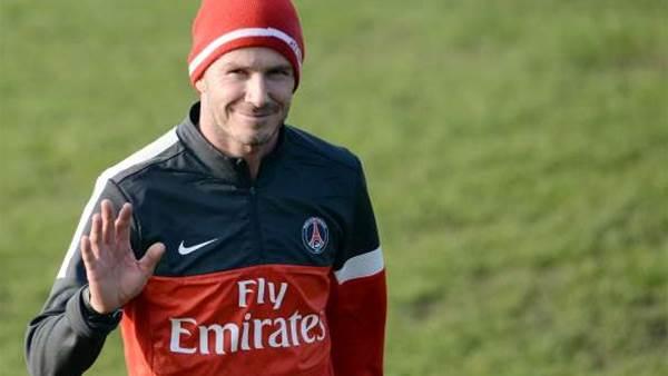 Barton not worried by Beckham
