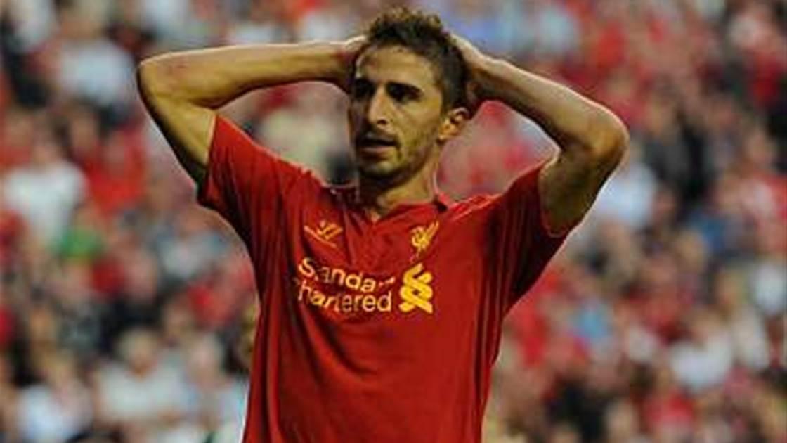Liverpool's Borino out for season
