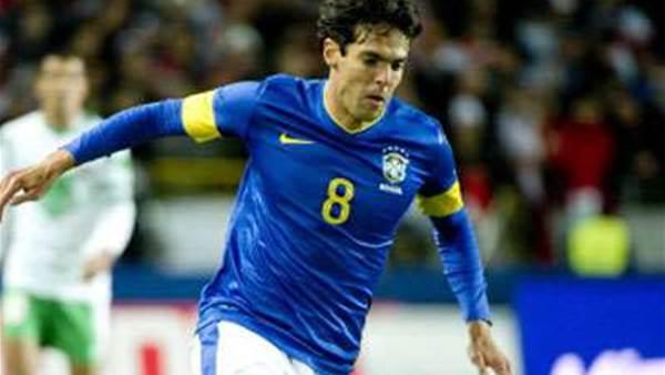 Kaka back for Brazil, Ronaldinho cut