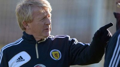 Strachan targets Wales win