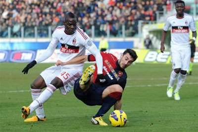 Milan angered by Cagliari ground rulings