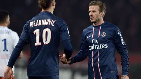 Ibrahimovic talks up value of Beckham