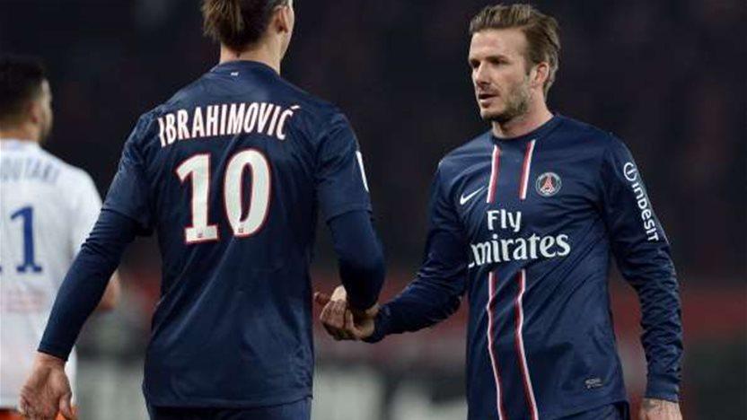 Ibrahimovic talks up value of Beckham
