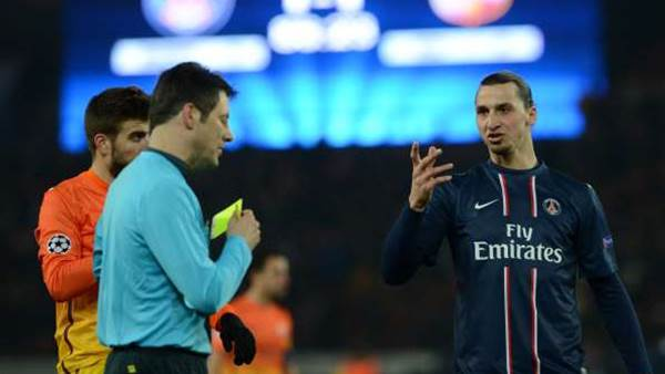Barca complain to UEFA about ref