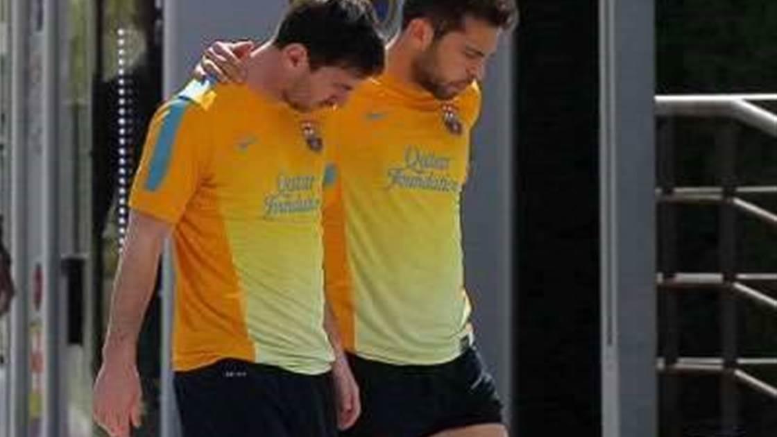 Roura, Barca wait on Messi fitness