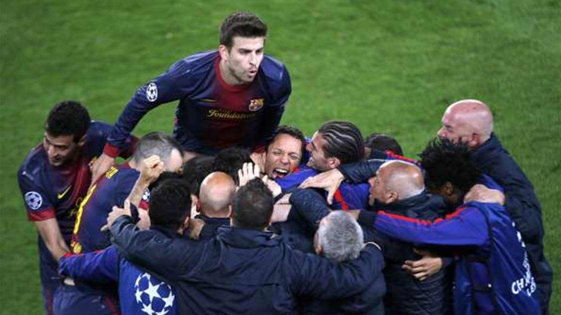 Barcelona sneak into semi at PSG's expense