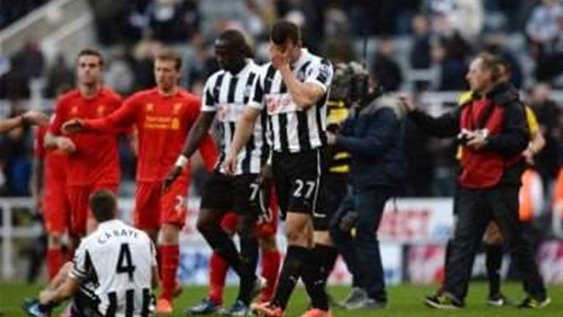 Newcastle 'devastated' about poor season, says Taylor