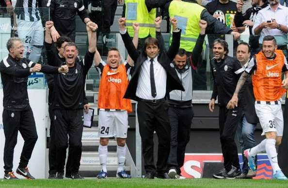 Conte in dreamland as Juventus clinch title