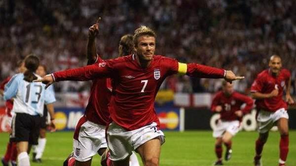 David Beckham's career in numbers