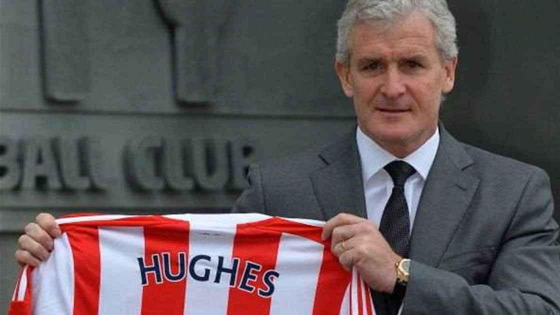 Hughes stamps mark at Stoke with mass clear out